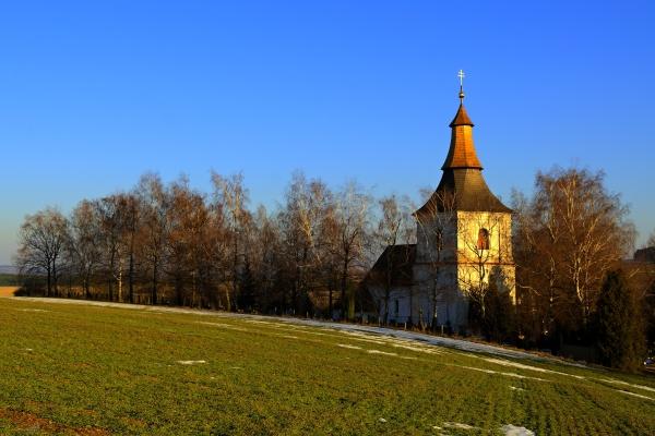 Kostel v Přísece