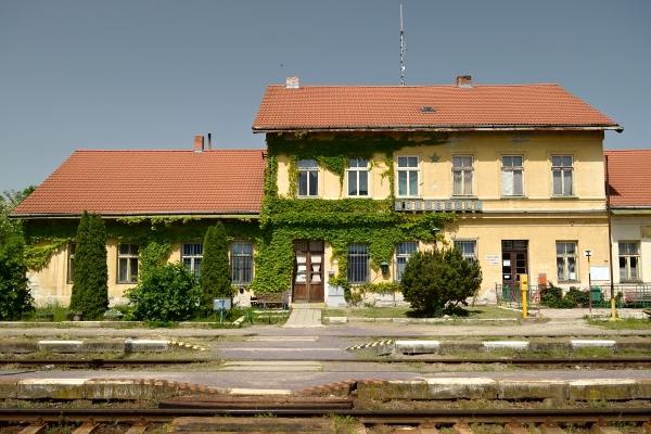 Vlakové nádraží Novosedly