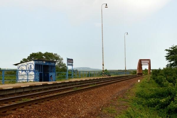 zastávka vlaku - Jevišovka