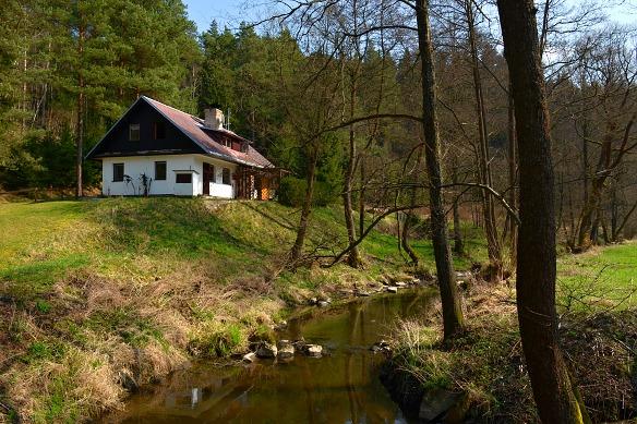 Typická trempská chata, pro pana Smejkala