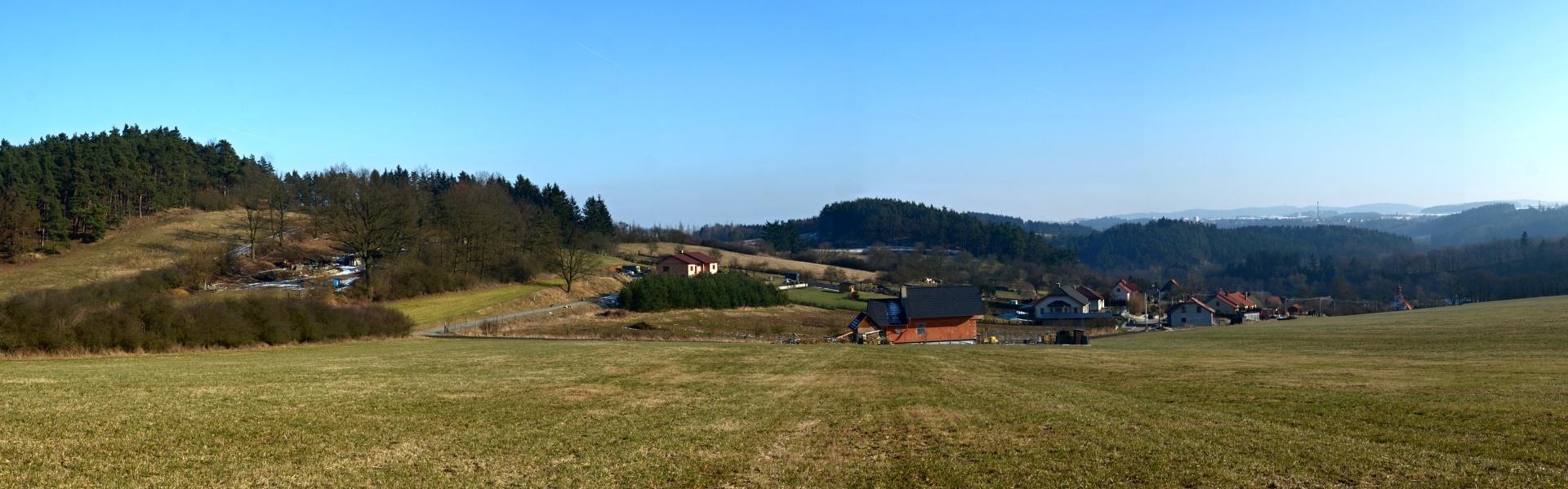 Sokolí, panorama