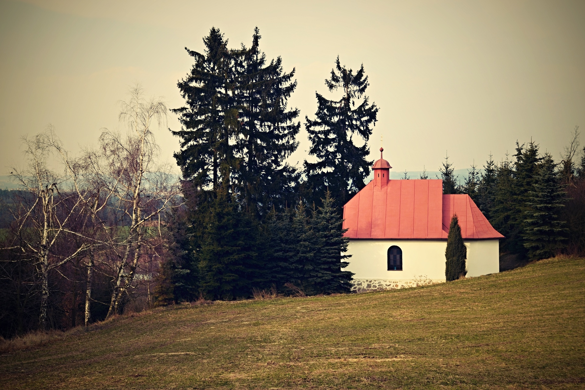 Kaple Sv. Marie, Pyšel