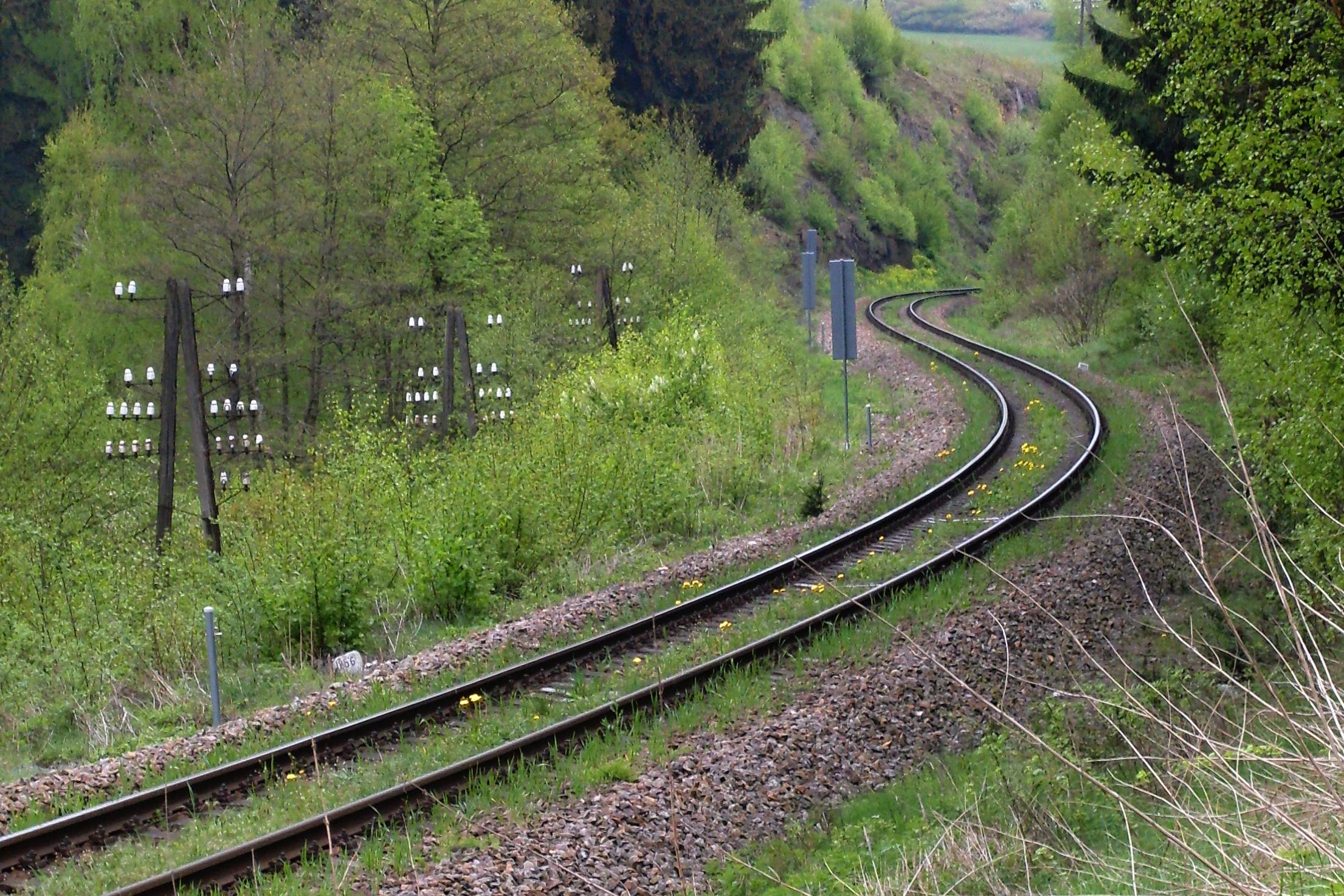 železniční esíčko u Bítovčic