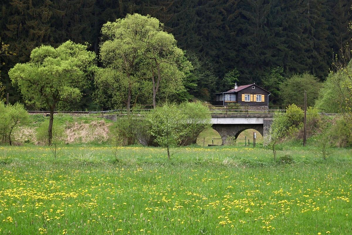 mostek přes řeku Brtničku