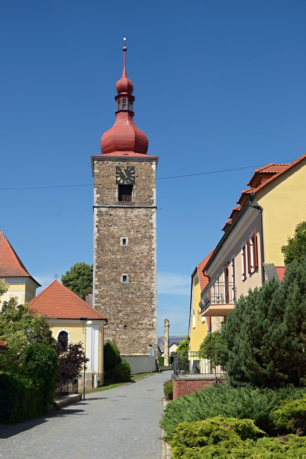 Gotická věž Přibyslav