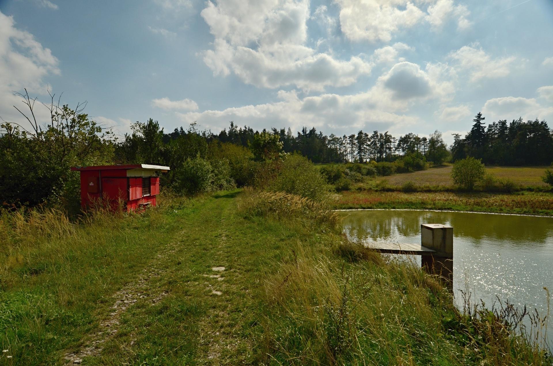 Jeden z rybníků na Oslavičce