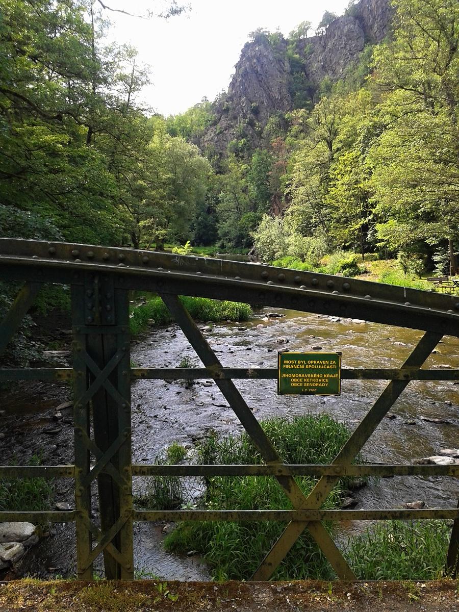 Železný most pod Senorady